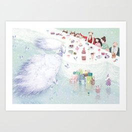 Snow Queen Art Print