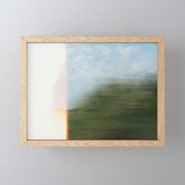 between paris and london Framed Mini Art Print