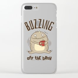 Buzzing off the Brew Clear iPhone Case