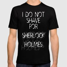 Shave Mens Fitted Tee Black LARGE