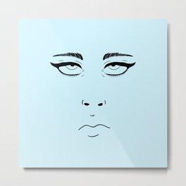 Eye Roll Metal Print
