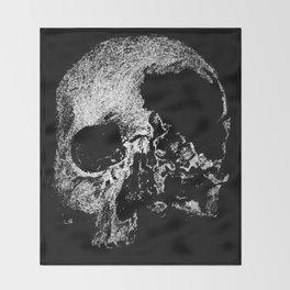 Viking Skull Throw Blanket