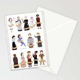 Women in History Stationery Cards