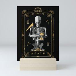 Death XIII Tarot Card Mini Art Print