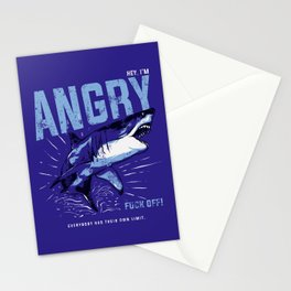 Hey, I'm ANGRY Stationery Cards