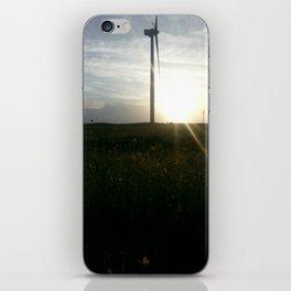 Wind Turbines in September iPhone Skin
