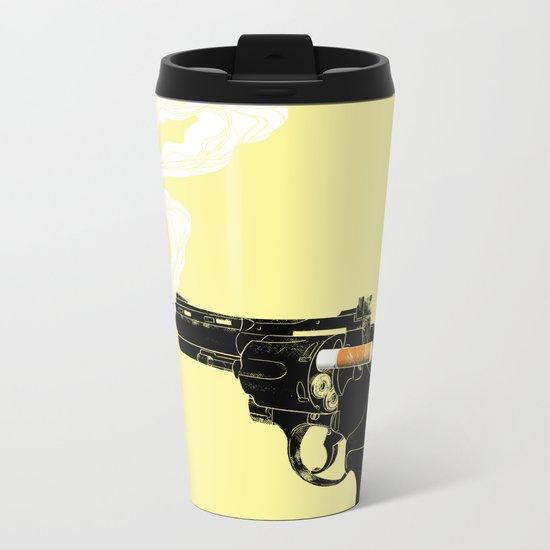 Smoking Gun Metal Travel Mug
