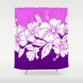 Hibiscus Purple Shower Curtain