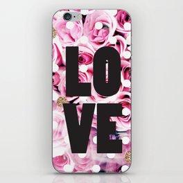 Love in Roses iPhone Skin