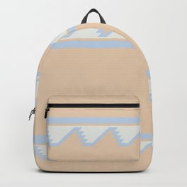 South of the Border Stripe No. 8 in Desert Peach Backpack
