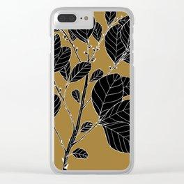 Wild Prune - Pouteria Sericea Clear iPhone Case