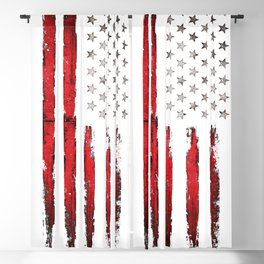 Vintage Stars and stripes Blackout Curtain