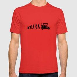 Evolution - golf T-shirt
