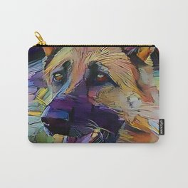 The GERMAN SHEPHERD from our POP YOUR POOCH line Carry-All Pouch