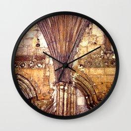 Dark Arches Wall Clock