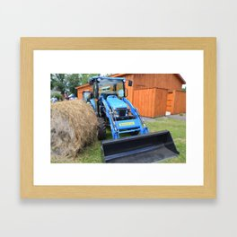 New Holland Workmaster 75 Tractor 1 Framed Art Print