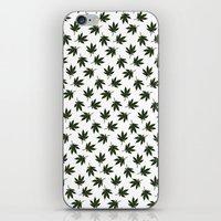 cannabis iPhone & iPod Skins featuring Cannabis by WeedPornDaily
