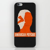 american psycho iPhone & iPod Skins featuring American Psycho by Bill Pyle