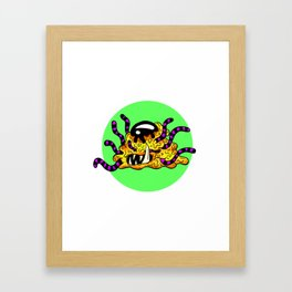 Darrell - The Unbelevable Slime Monster Framed Art Print