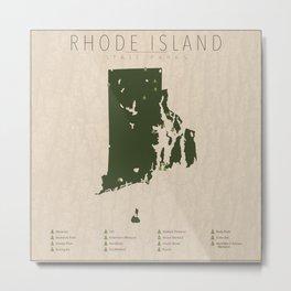 Rhode Island Parks Metal Print