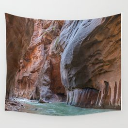 All Seeing Gopher (The Narrows, Zion National Park, Utah) Wall Tapestry