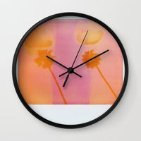 palms Wall Clocks featuring Palms by Leandro