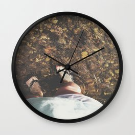 Clear Waters Wall Clock