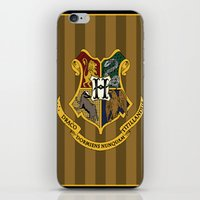 hogwarts iPhone & iPod Skins featuring Hogwarts by Winter Graphics