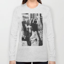 NYC Editorial Collage Black & White Long Sleeve T-shirt