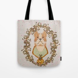Sgt. Stubby Ultimate Boston Terrier Good Boy WWI Hero With Confetti Tote Bag