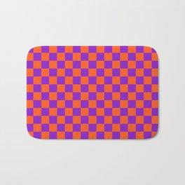 Checkered Pattern VIII Bath Mat