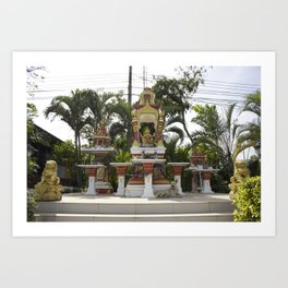 Bangkok Shrine Art Print