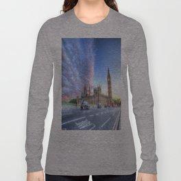 Westminster Bridge Early Evening Long Sleeve T-shirt