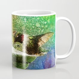 Jewel Hummingbird ~ World God Quote ~ Ginkelmier Inspired Coffee Mug