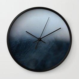 Foggy Horizon Wall Clock