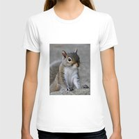 squirrel T-shirts featuring Squirrel by Charlene McCoy