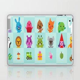 animals monster music Laptop & iPad Skin