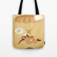 kiwi Tote Bags featuring kiwi by mark ashkenazi