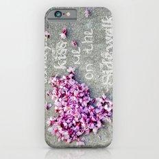 Kisses On The Sidewalk iPhone 6s Slim Case