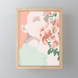 All flowers in time Framed Mini Art Print