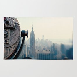 Empire State Building NYC Rug