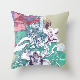Stream of Tears Throw Pillow