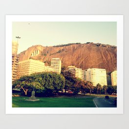 Rio de Janeiro - Brazil Art Print