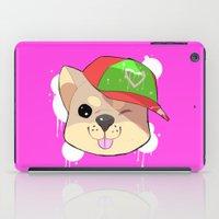 shiba iPad Cases featuring fashion shiba by Donald