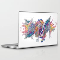 psych Laptop & iPad Skins featuring Psych by Sushibird