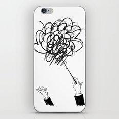 downbeat??  find my beat! iPhone & iPod Skin