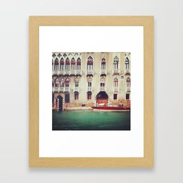 The Venice Waters Framed Art Print