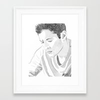 dean winchester Framed Art Prints featuring Dean Winchester by Nasher67671
