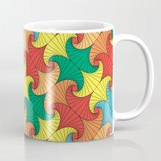 Dancing squares Mug