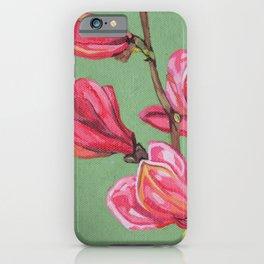 Magnolia II iPhone Case